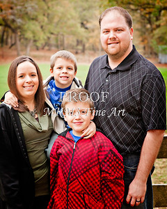 Jim Poe Family November 24, 2011 Fine Art Print from Thanksgiving 3893.02