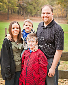 Jim Poe Family November 24, 2011 Fine Art Print from Thanksgiving 3892.02