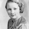 Frances Roberts Miller in her late teens..