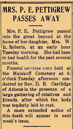 Mac: This is an article from the Malakoff News, Henderson County, Texas, Thursday July 2, 1925.  I wish I could tell you moe.