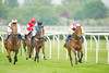 Charles Owen Pony Race, 148cm & Under 1m 1f. Cudlic Verona, Sean Bowen wins from Lynne, Cameron Hardie, with Miss Wonderful, Charlotte Greenway, third.
