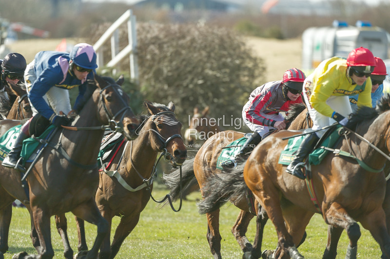 Aintree Grand National Meeting: Thursday 4th April 2013: The John Smith's Fox Hunters' Steeple Chase (Class 2)