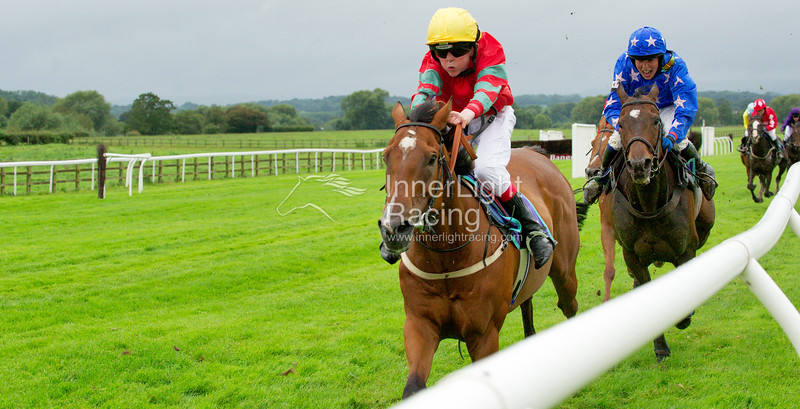 The Pony Racing Authority; Charles Owen Racecourse Series,148cm Race. Tom Fanshawe on Beside The Sea, and Christopher Gregory on Second Chance IV, placed second and third.