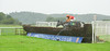 Betfair Sponsors The Stable Staff Canteen Handicap Chase. Bhaltair, Jason Maguire up, at the penultimate fence.