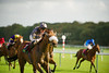 """The Joseph Heler Cheese, Lester Piggott """"Start to Finish"""" Handicap Stakes (Class 2) Adam Kirby brings home Dr Marwan Koukash's Face The Problem ahead of the field."""