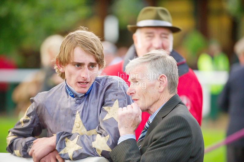 "The Joseph Heler Cheese, Lester Piggott ""Start to Finish"" Handicap Stakes (Class 2) Adam Kirby, winning jockey."