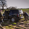 And even with proper 4 X 4 power some drivers still needed help!