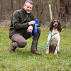 Second Place Open Spaniel Sling Gin English Springer Spaniel owned and handled by Mr. Stephen Fisher
