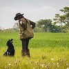 Midlands Flatcoated Retriever Working Test Curborough May-150