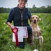 Ist Place Open Winner <br /> Charlotte Brailsford<br /> with Kentixen Sunshine Blossom of Casheath