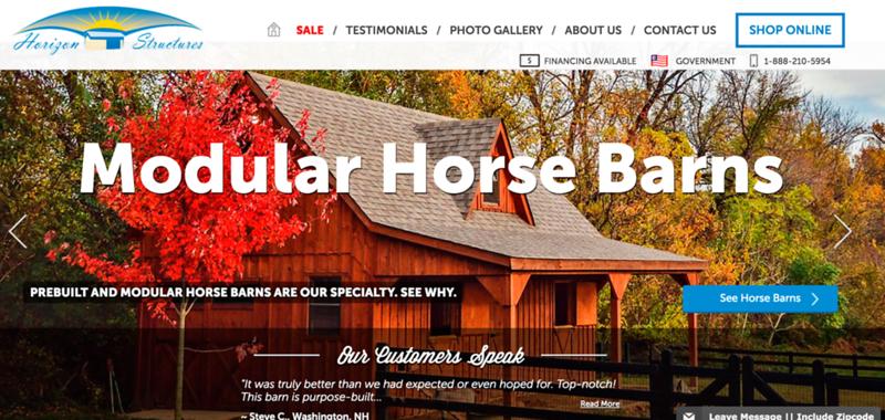 Horizon Structures website