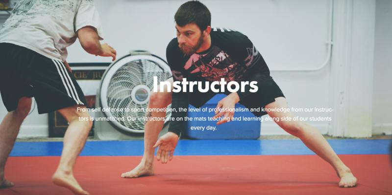Harrisburg Brazilian Jiu-Jitsu & Judo website