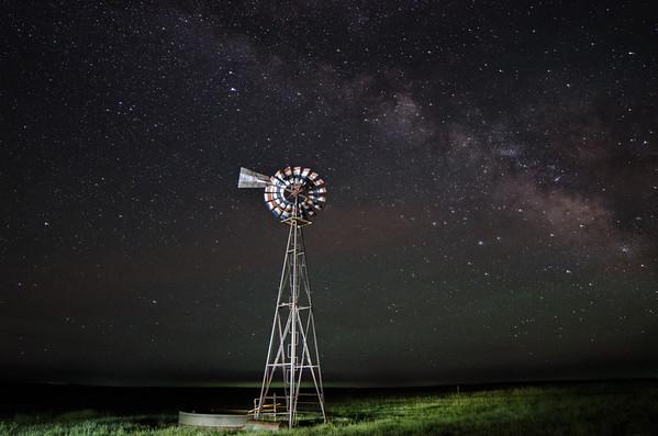 Milky Way in eastern Colorado