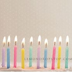 Lighted Birthday Candles