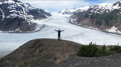 Salmon Glacier, near Hyder Alaska