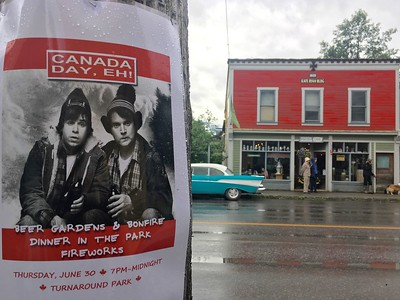 Canada Day in Stewart BC