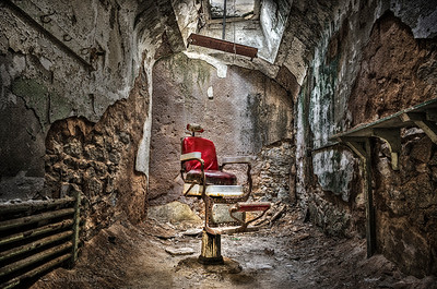 Barbershop at Eastern State Penitentiary