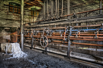 Scranton Lace Factory Loom Room