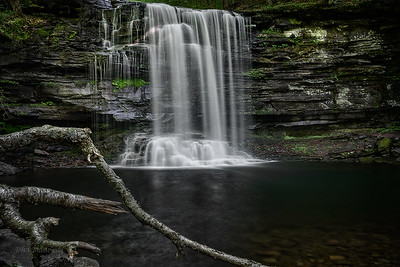Harrison Wright Waterfall - Ricketts Glen State Park