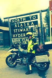 Met Harry Hauss last year on trip north. He's an impressive 86 years old and we rode together  for  2 days.