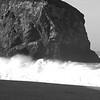 Waves BW - Goat Rock Beach 33