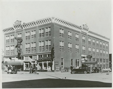 Harney Hotel, NW corner of 7th & Main, Rapid City.