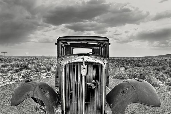 Route 66 Rustic Car