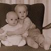 Per och Urban i Kåtaselet 1963