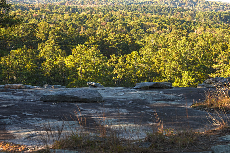 Stone Mountain Fading Light, Shares of Gray and Green