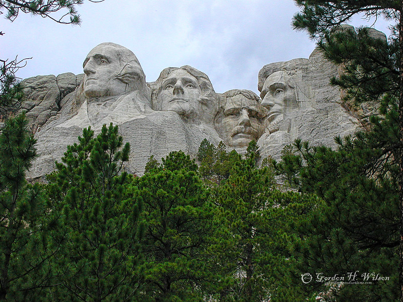 Mount Rushmore National Memorial SD, 2004