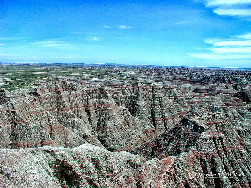 Badlands National Park SD, 2004
