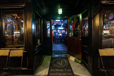 Pub in December