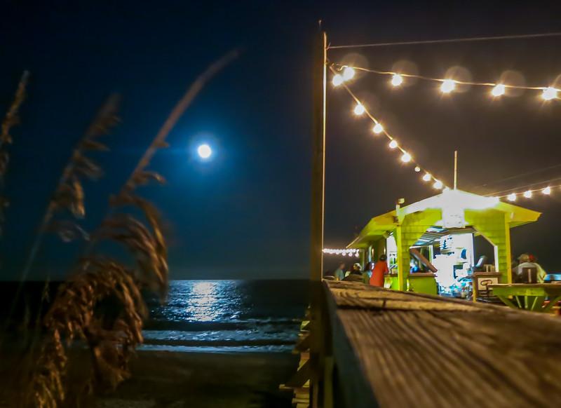 Moon Rise at the Tiki