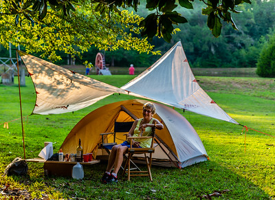Minimal camping.