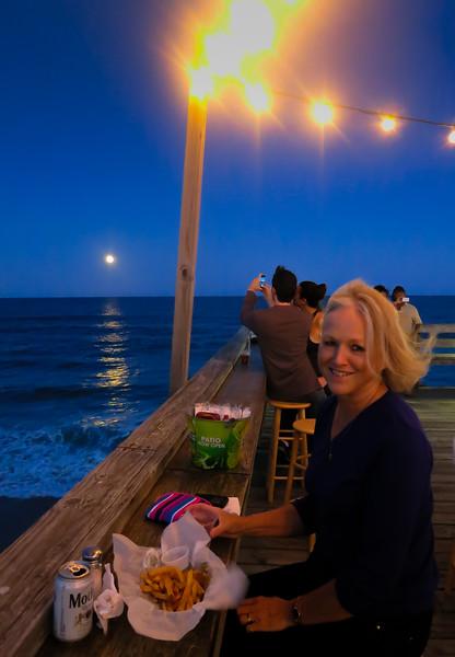 Moonrise at the Tiki