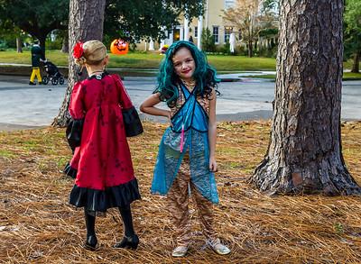 Halloween on Live Oak