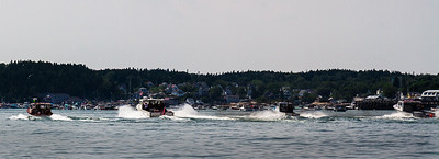 Lobster Boats Racing