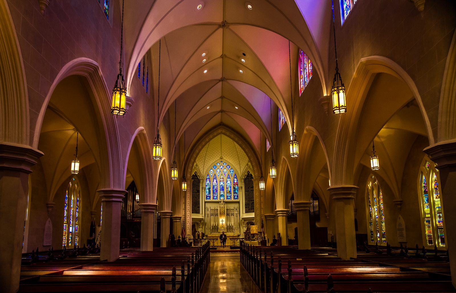 Grace Cathedral....inside