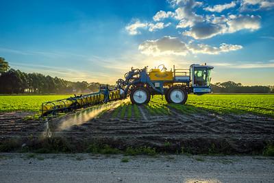 Euro-Trac 3800 Veldspuit Bedrijfsfotografie Agrarische Sector Akkerbouw