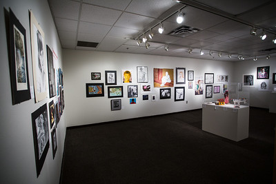 Photography by Jeen Na. The Scholastic Art Awards pieces receiving American Vision, Gold Key and Silver Key awards exhibited at KCAD. The gallery is up from January 20 - February 15.