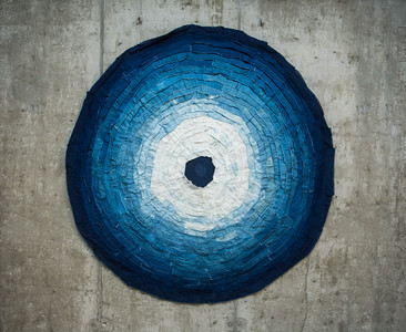 """""""Indigo Hole"""" by Laurie Hunt."""