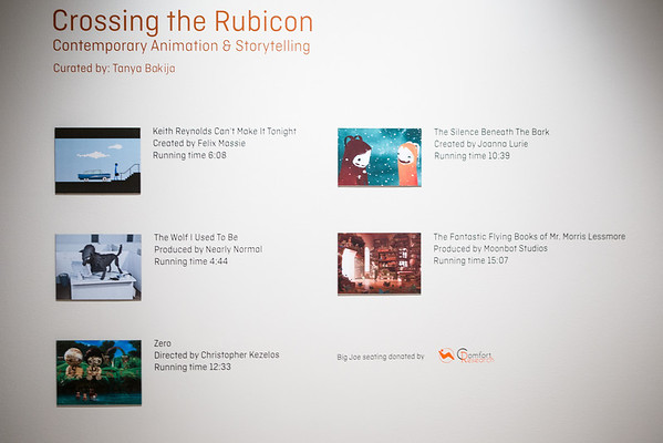 Crossing The Rubicon Exhibition View