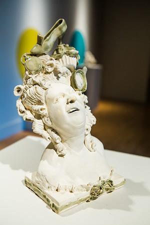 Portrait of the artist as Marie Antoinette.