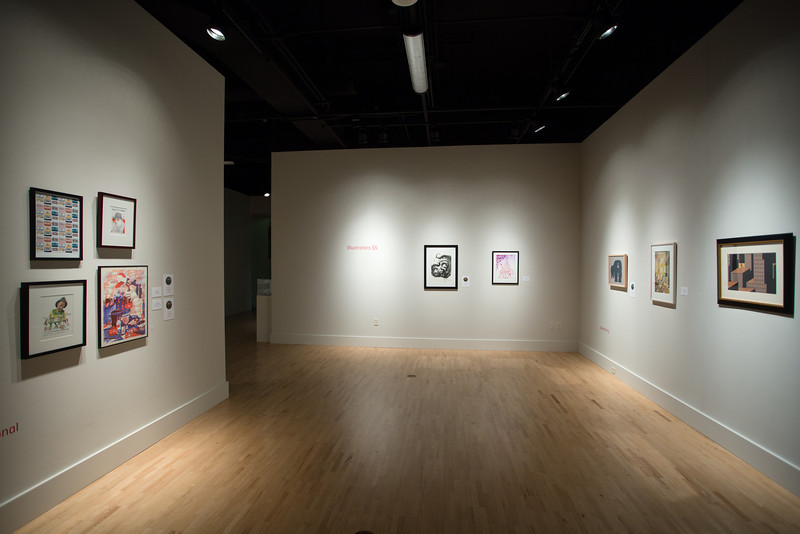 Illustrators 55 Exhibition View