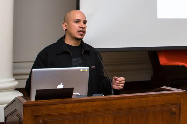 Carlos Barberena presenting.