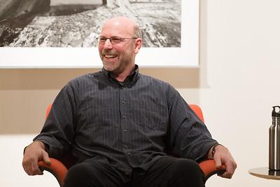 Steve Nelson during artist talk