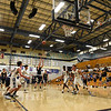 Santa Fe High at La Cueva boy's basketball game played at La Cueva High School in Albuquerque Tuesday, February 7, 2017. Clyde Mueller/The New Mexican