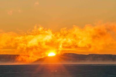Sunset on the Kahochella
