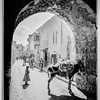 Jerusalem (El-Kouds). Street of arches.  1898-1914