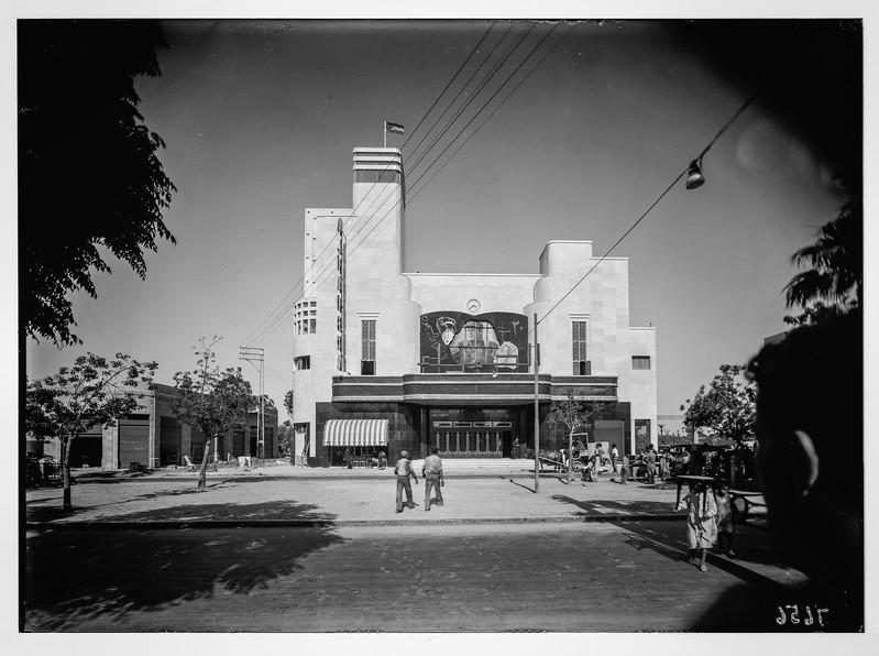 4.  Jaffa. Alhambra Cinema. 1937